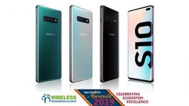 Photo of سامسونج تحصد جائزة أفضل ابتكار لقدرات Wi-Fi على جالكسي S10!