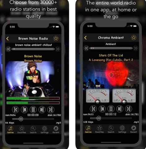 تطبيق Air Radio Tune للاستماع إلى محطات الراديو