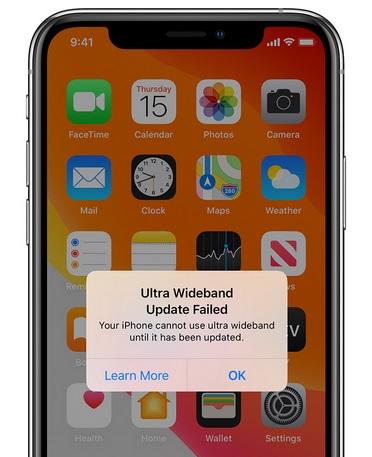 تقرير - تحديث iOS 13.1.3 يثير مشكلة في شريحة U1 على ايفون 11