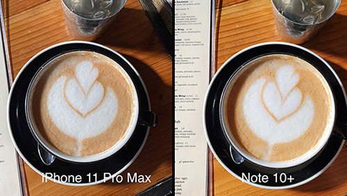 اختبار كاميرا آيفون 11 برو ماكس ضد جالكسي نوت 10 بلس