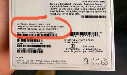 آبل تبدأ في بيع هواتف iPhone XR المصنعة في الهند