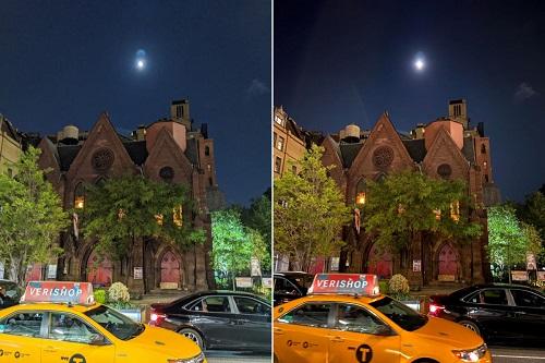 التصوير الليلي - كاميرا ايفون 11 ضد كاميرا جوجل بكسل 4