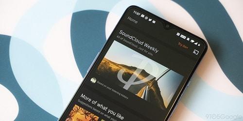 تطبيق ساوند كلاود يحصل على الوضع الليلي في تحديثه الأخير