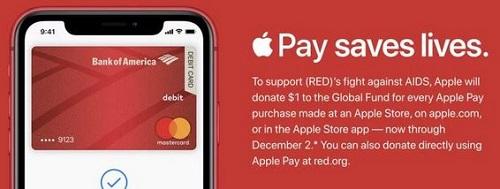 ابل سوف تتبرع بدولار واحد عن كل عملية شراء من متجرها الإلكتروني
