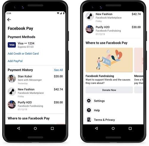 Facebook Pay - كل شيء عن خدمة فيسبوك الجديدة للدفع الإلكتروني وإرسال الأموال!