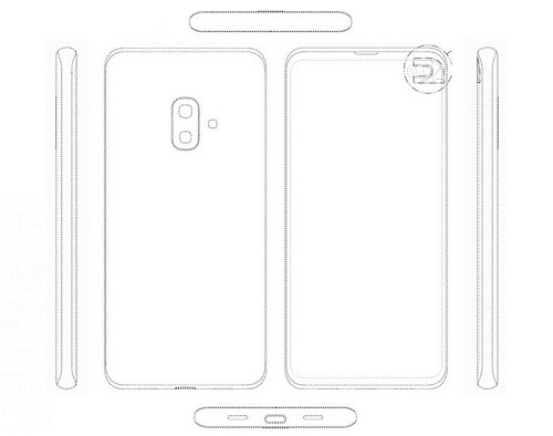 تصميم هاتف جالكسي S10 لايت مزيج بين S10 و S9 بلس