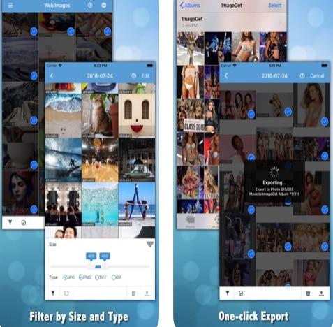 تطبيق ImageGet لتنزيل الصور من الإنترنت
