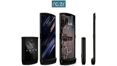 Photo of الكشف رسمياً عن هاتف Motorola Razr 2019 بهذه المواصفات وهذا السعر!