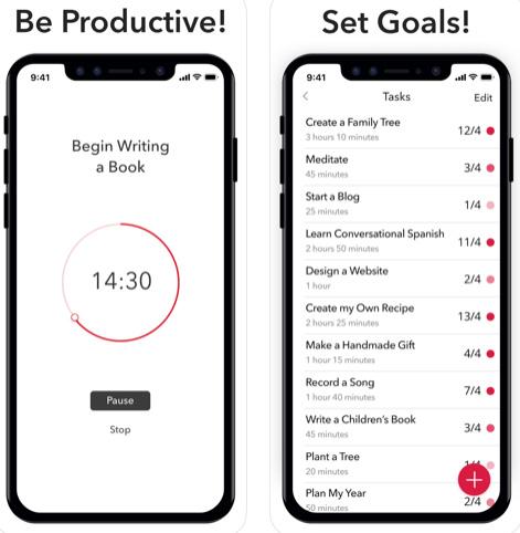 تطبيق Move On لتنظيم الوقت