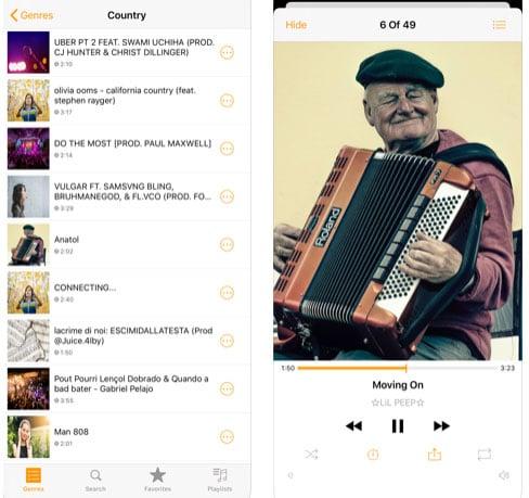تطبيق Musi للاستماع للموسيقى والصوتيات