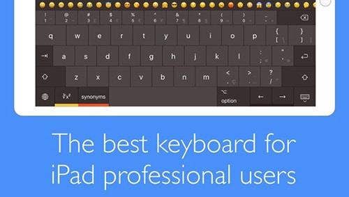 Pro Keyboard لوحة مفاتيح احترافية للايباد