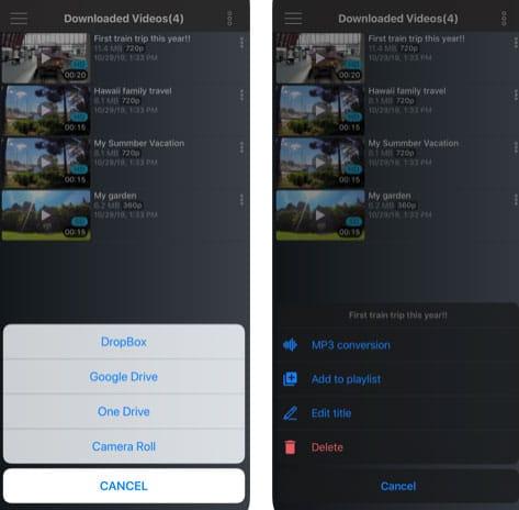 تطبيق VidaX لإدارة ملفات الفيديو
