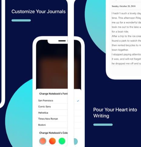 تطبيق Whirlpost للتدوين الشخصي