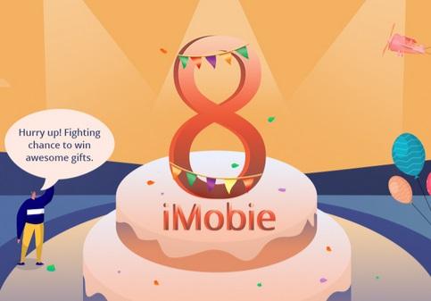 احصل على خصومات كبيرة وهدايا قيمة بمناسبة الذكري السنوية الثامنة لشركة iMobie