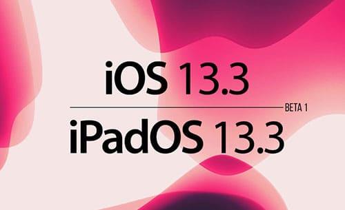ابل تطلق النسخة التجريبية الأولى من تحديث iOS 13.3 - ما الجديد؟