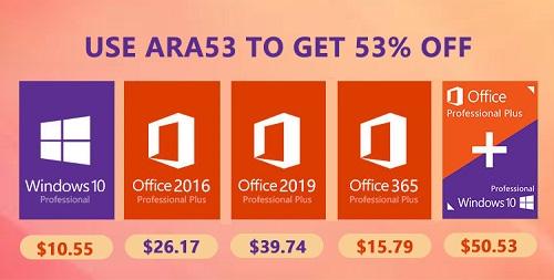 مفاتيح تفعيل منتجات مايكروسوفت ويندوز و أوفيس بأرخص الأسعار - عروض البلاك فرايداي!