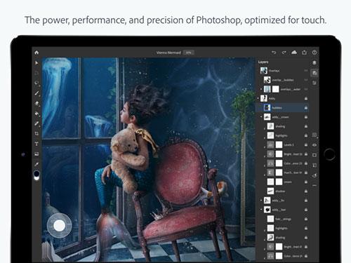 إطلاق تطبيق فوتوشوب للايباد رسمياً - متوفر الآن للتحميل!