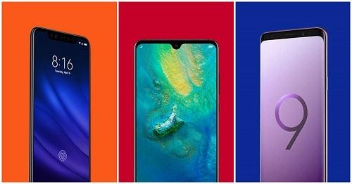Samsung vs. Huawei vs. Xiaomi