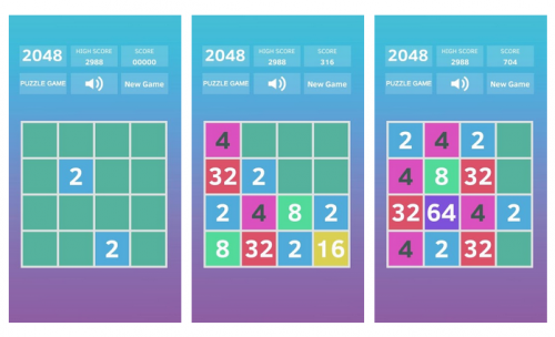 لعبة 2048 للأندرويد