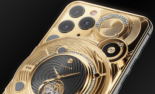 هاتف ايفون 11 برو الأغلى في العالم من الذهب والماس وبقيمة 100 ألف دولار!