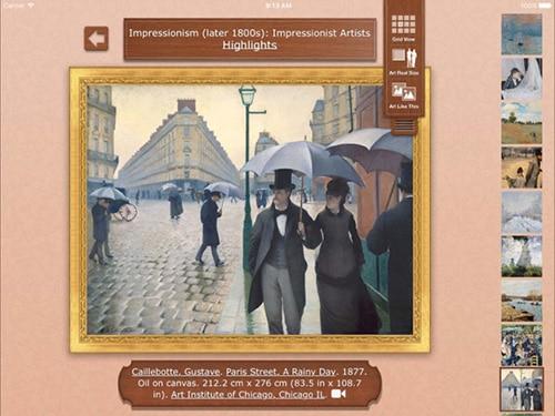 تطبيق Art Authority - مكتبة لوحات فنية ضخمة