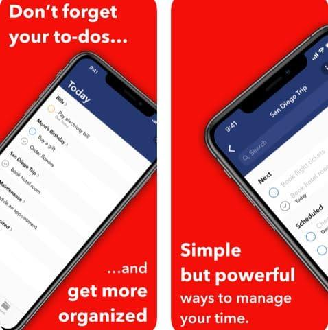 تطبيق Further لتنظيم وترتيب المهام
