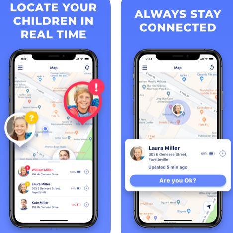 تطبيق I AM OK لتتبع أفراد العائلة