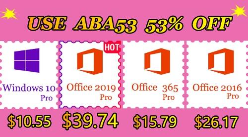 الآن مفاتيح تفعيل منتجات مايكروسوفت ويندوز 10 وأوفيس متاحة بأقل الأسعار!