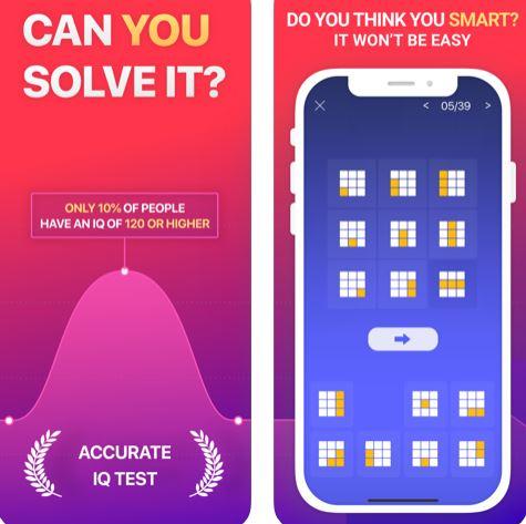 تطبيق Superb IQ لقياس الذكاء