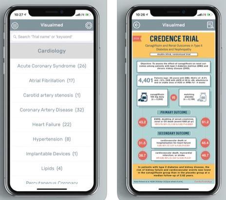 تطبيق Visualmed الطبي