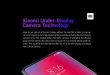 Photo of شاومي تسجّل براءة اختراع لهاتف ذو كاميرا داخل الشاشة