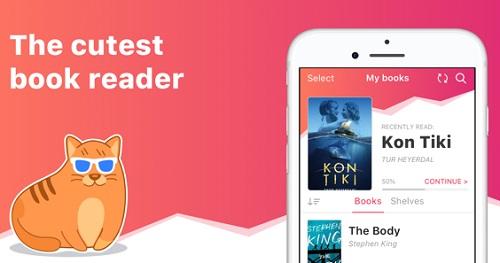 تطبيق eBoox لقراءة الكتب الإلكترونية
