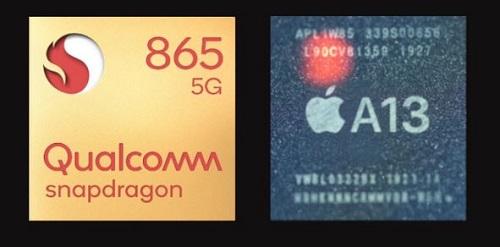 لأول مرة - معالج Snapdragon 865 من كوالكم يتفوق على معالج ابل A13