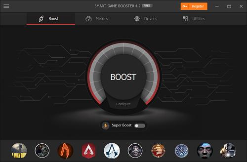 برنامج Smart Game Booster تحسين الألعاب بخطوة واحدة!