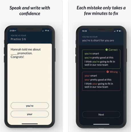 تطبيق Grammar Fix لإصلاح الأخطاء اللغوية