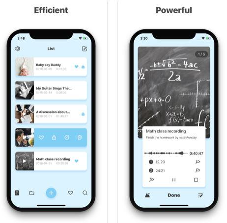 تطبيق Memos-Voice - أفضل تطبيق لتسجيل المحاضرات والدروس