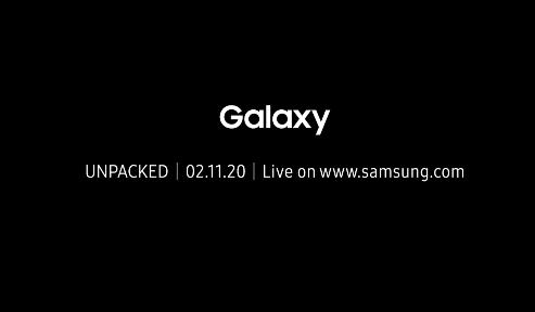 سامسونج سوف تعلن عن هاتفي جالكسي S20 و Fold 2 يوم 11 فبراير القادم!