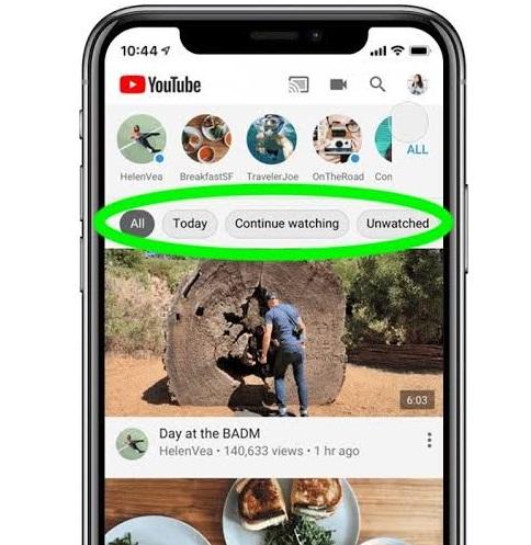 تحديث جديد لتطبيق يوتيوب للايفون والايباد يتيح فلترة مقاطع الفيديو بسهولة!