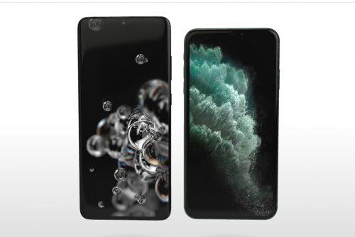 استعراض الهواتف بتقنية 3D