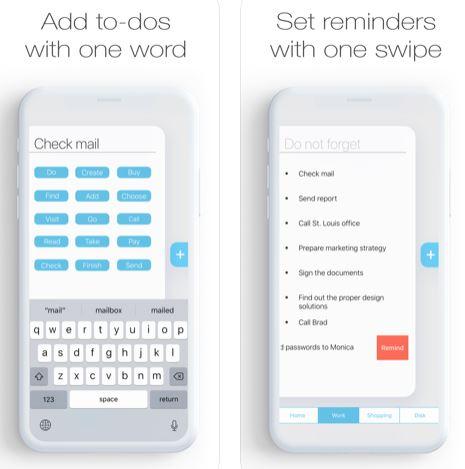 تطبيق Dont Forgeter لترتيب مهامك اليومية