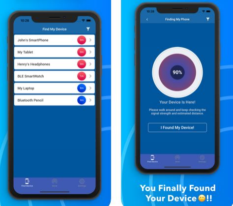 تطبيق Find My Lost Bluetooth Device للبحث عن الأجهزة المفقودة