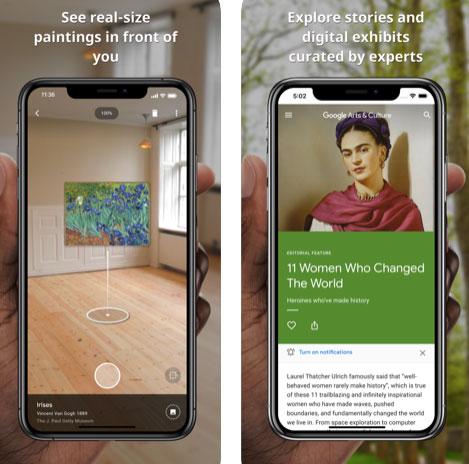 تطبيق جوجل للفنون والثقافة Google Arts & Culture