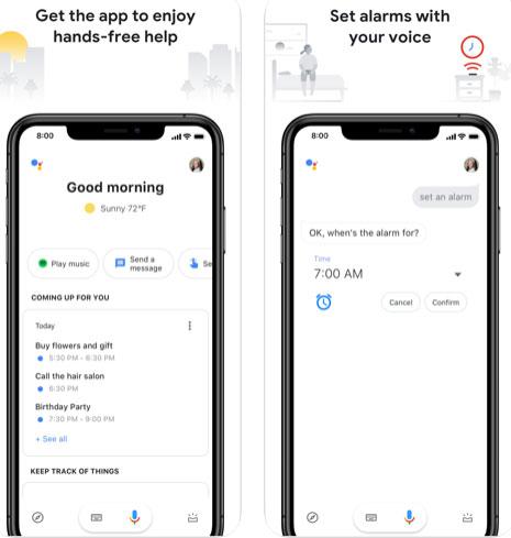 المساعد الشخصي Google Assistant - بديل سيري