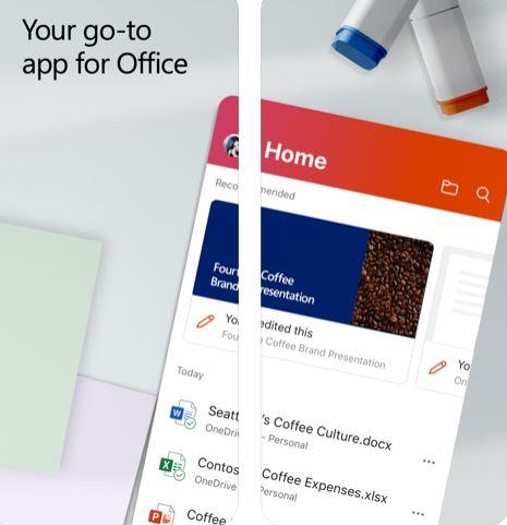 إطلاق تطبيق مايكروسوفت أوفيس الشامل للايفون