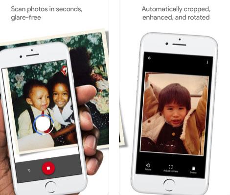 تطبيق PhotoScan لعمل مسح للصور والمستندات
