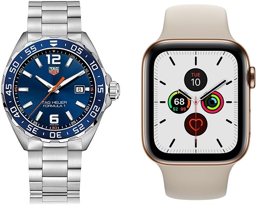 تقرير - ساعة ابل فاقت مبيعات الساعات السويسرية في 2019 لأول مرة!