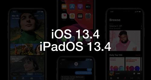 ابل تطلق تحديث iOS 13.4 التجريبي - ما الجديد؟
