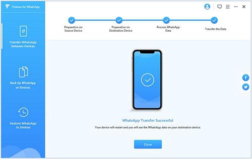 شرح كيفية استخدام برنامج iTransor for WhatsApp