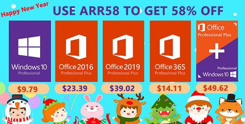 اشتري الآن مفاتيح تفعيل مايكروسوفت ويندوز 10 برو و أوفيس 2019 و 2016 برو بأسعار تبدأ من 10$ فقط!