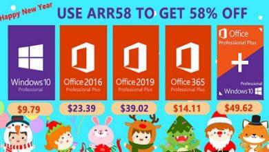 Photo of اشتري الآن مفاتيح تفعيل مايكروسوفت ويندوز 10 برو و أوفيس 2019 و 2016 برو بأسعار تبدأ من 10$ فقط!